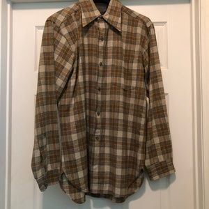 Vintage MINT CONDITION Plaid Pendleton Wool Shirt